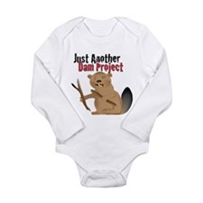 Another Dam Long Sleeve Infant Bodysuit