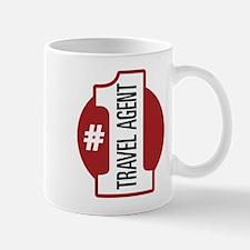 #1 Travel Agent Mug