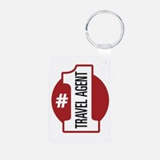 #1 Travel Agent Keychains