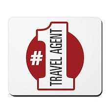 #1 Travel Agent Mousepad