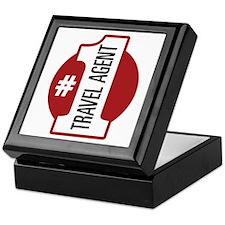 #1 Travel Agent Keepsake Box