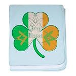 The Masons Irish Clover baby blanket