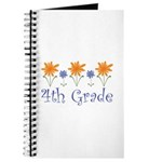 Best Teacher Gift 4th Grade Journal