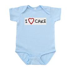 I Love Cake Infant Creeper