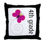 Thank You Teacher Gifts 4th Grade Throw Pillow