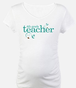 4th Grade Teacher Shirt
