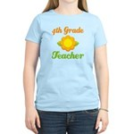Year End Gift 4th Grade Teacher Women's Light T-Sh