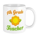 Year End Gift 4th Grade Teacher Mug