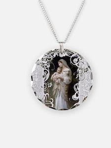 Innocence Necklace Circle Charm