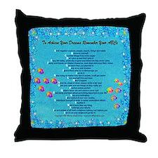 To Achieve Your Dreams Remember Your ABCs -Bubbles