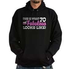 Funny 70th Birthday Hoodie