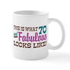 Funny 70th Birthday Mug