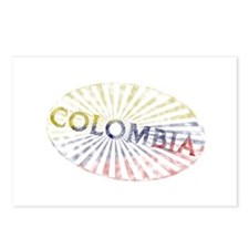 Colombian Stamp Postcards (Package of 8)