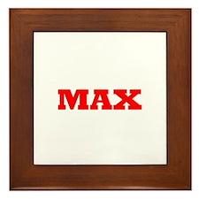 Max 5 Framed Tile