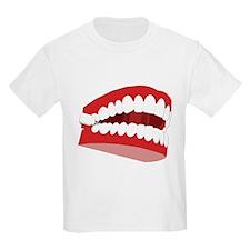 CHATTERING TEETH Kids T-Shirt