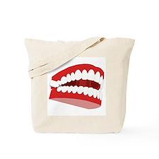 CHATTERING TEETH Tote Bag