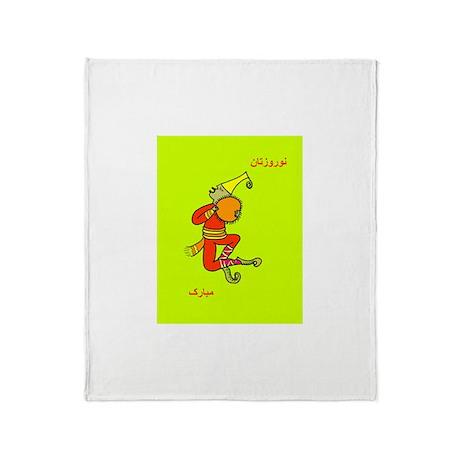 Haji Firooz Throw Blanket