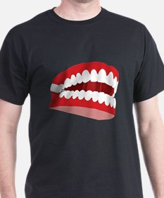 CHATTERING TEETH Black T-Shirt