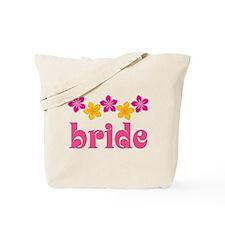 Bride Hawaiian Tropical Flowers Tote Bag