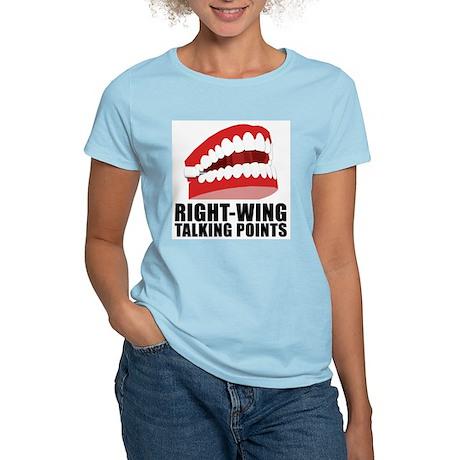 CHATTERING TEETH Women's Pink T-Shirt