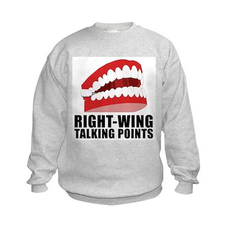 CHATTERING TEETH Kids Sweatshirt