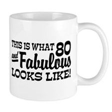 Funny 80th Birthday Mug