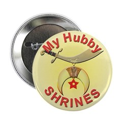 Proud Shriners Wife's Button