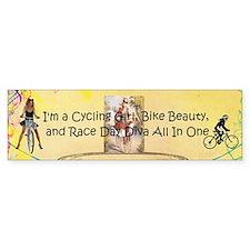 Cycling Race Diva (bumper) Bumper Bumper Sticker
