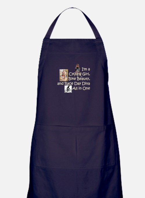 Cycling Race Diva Apron (dark)