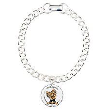 Yorkie IAAM Charm Bracelet, One Charm
