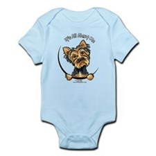 Yorkie IAAM Infant Bodysuit