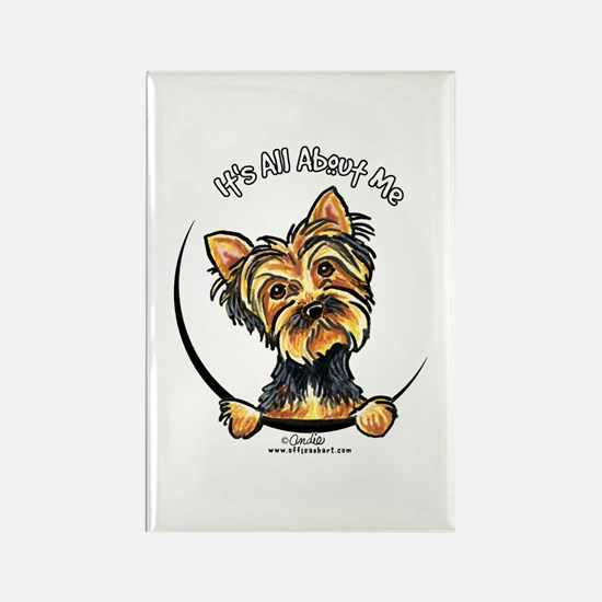 Yorkie IAAM Rectangle Magnet