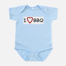 I Love BBQ Infant Creeper