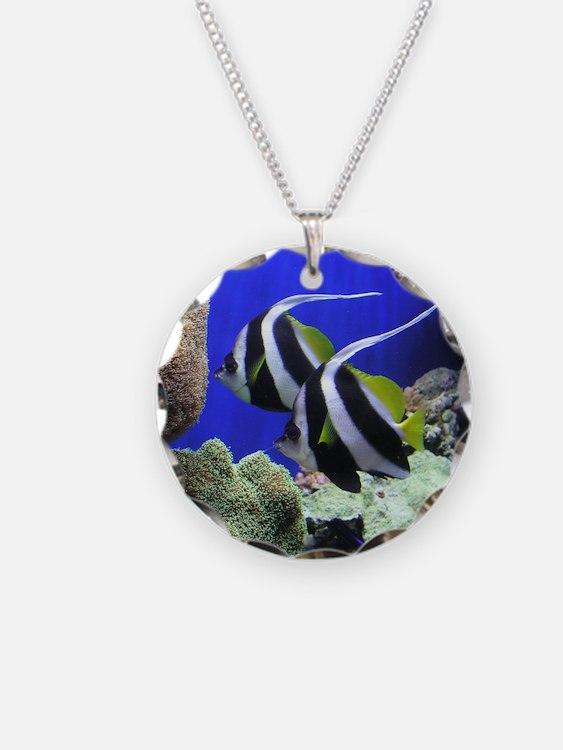 Helaine's Angel Fish Necklace