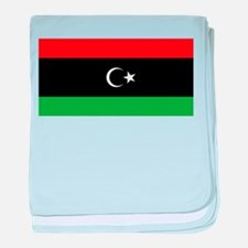 National Flag of Libya (1951-1969) baby blanket