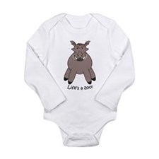 Warthog Long Sleeve Infant Bodysuit