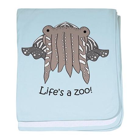 Cuttlefish baby blanket