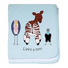 African Combo #2 baby blanket