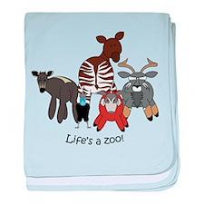 Africa Combo #4 baby blanket