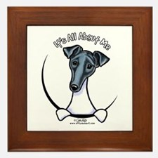 Smooth Fox Terrier IAAM Framed Tile