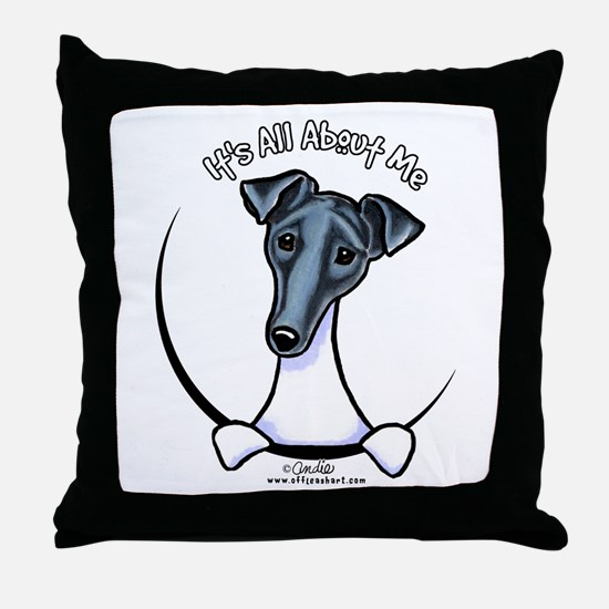 Smooth Fox Terrier IAAM Throw Pillow