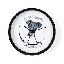 Smooth Fox Terrier IAAM Wall Clock