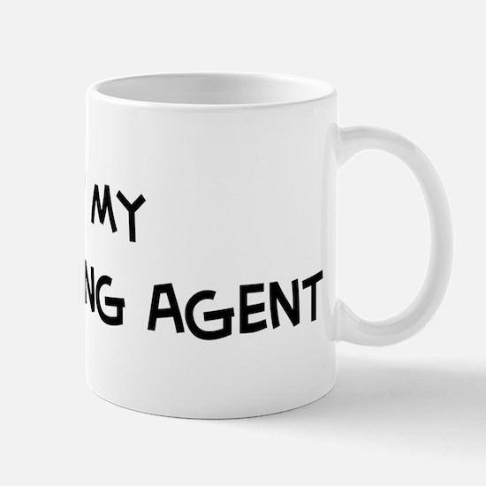 I Love Purchasing Agent Mug