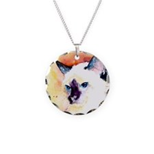 Siamese Cat Gifts Necklace