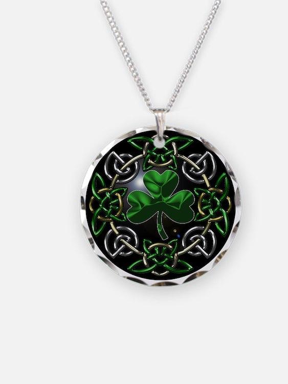 St. Patrick's Day Celtic Knot Necklace