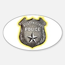 Austin City Police Decal