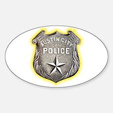 Austin City Police Sticker (Oval)