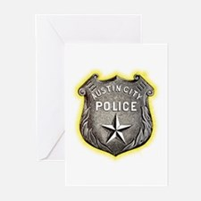 Austin City Police Greeting Cards (Pk of 20)