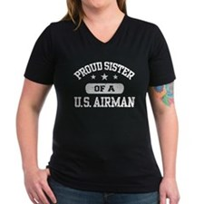 Proud Sister of a US Airman Shirt