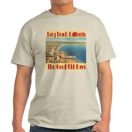Long Beach California Light T-Shirt